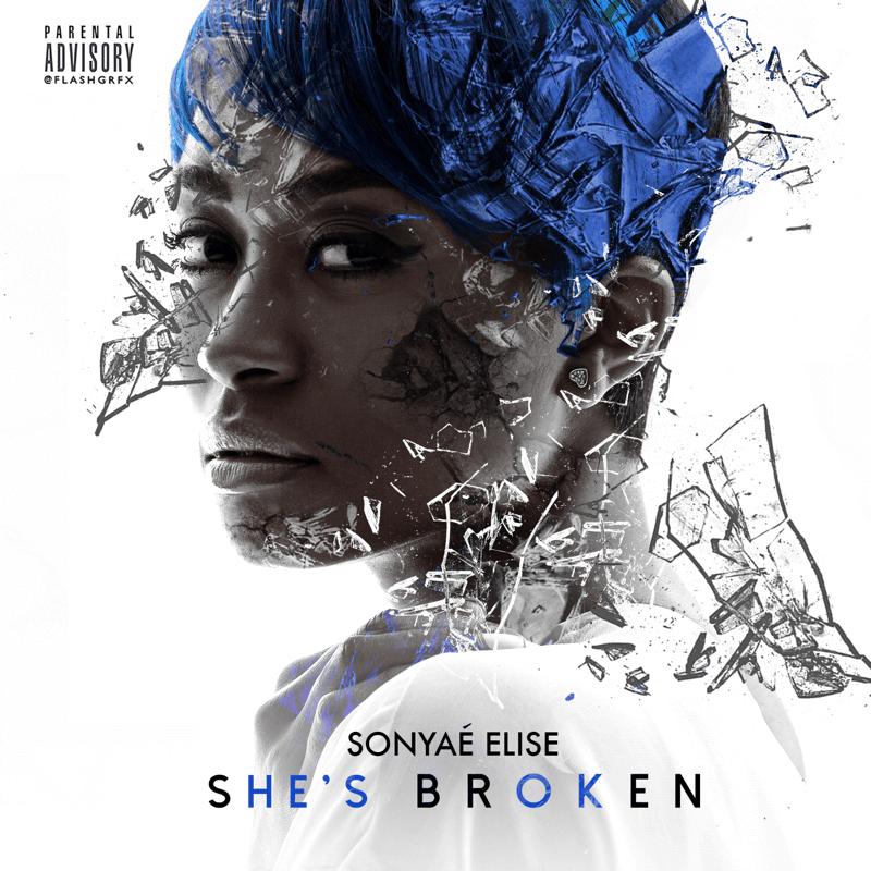 Sonyae Elise Shes Broken Cover